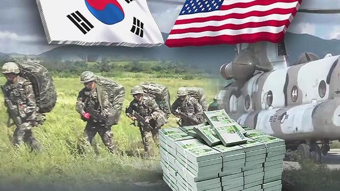 Sau nhiều vòng đàm phán, Mỹ và Hàn Quốc vẫn không ký được Hiệp định về chia sẻ chi phí cho việc quân đội Mỹ có mặt tại Hàn Quốc.