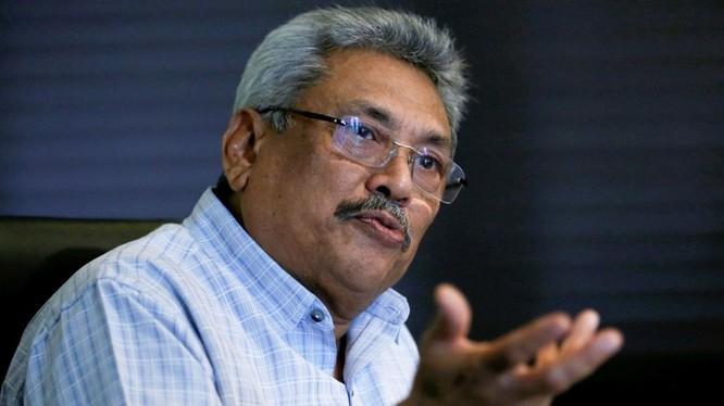 Tổng thống Gotabhaya Rajapaksa: việc cho Trung Quốc thuê cảng Hambantota trong 99 năm là một sai lầm.