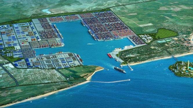 Cảng nước sâu Hambantota mà chính phủ tiền nhiệm của Sri Lanka đã cho Trung Quốc thuê 99 năm để gán nợ