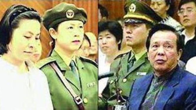 Nguyên Phó Chủ tịch Quốc hội Trung Quốc Thành Khắc Kiệt và người tình Lý Bình bị đưa ra xét xử trước pháp luật.