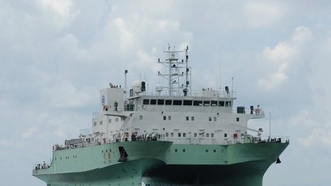 """Con tàu """"Thực nghiệm - 1"""" bị Hải quân Ấn Độ xua đuổi khi vào hoạt động trong vùng đặc quyền kinh tế Ấn Độ."""