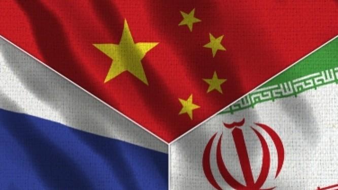 Cuộc tập trận chung trên biển giữa hải quân Trung Quốc - Nga - Iran trên biển đang là sự kiện được dư luận quốc tế quan tâm