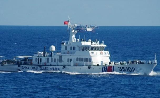Ngày 30/12.Bộ Ngoại giao Indonesia đã triệu Đại sứ Trung Quốc đến trao công hàm phản đối tàu hải cảnh Trung Quốc xâm phạm vùng đặc quyền kinh tế nước này. Ảnh: tàu Hải cảnh Trung Quốc (Ảnh: Đông Phương).