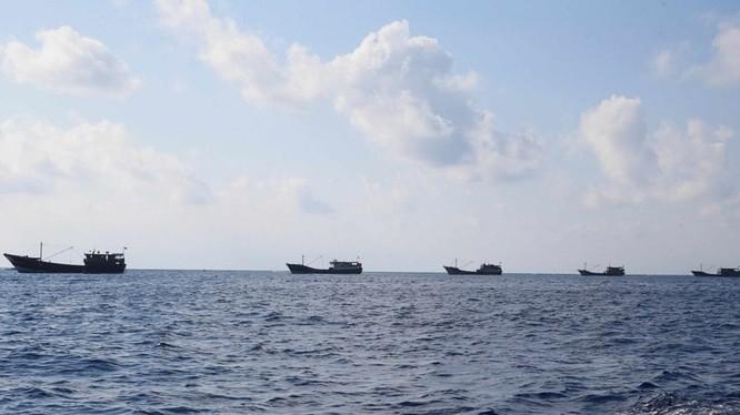 Quan hệ Trung Quốc - Indonesia đang ngày càng xấu đi với việc Indonesia phản đối Trung Quốc cho các tàu cá và cảnh sát biển xâm phạm vùng đặc quyền kinh tế của Indonesia. (Ảnh: Đa Chiều).
