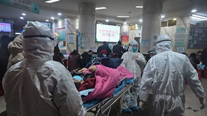 Số bệnh nhân ở các vùng trong toàn Trung Quốc và số ca tử vong ở Hồ Bắc đang tăng lên rất nhanh (Ảnh: Đa Chiều).
