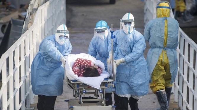 Số người bị bệnh và số tử vong do Viêm phổi Vũ Hán đã vượt xa đại dịch SARS năm 2003 (Ảnh: Guancha)
