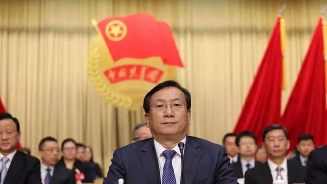 Ông Vương Trung Lâm được Trung ương Đảng Cộng sản Trung Quốc điều về làm Bí thư thành ủy Vũ Hán (Ảnh: Đa Chiều).