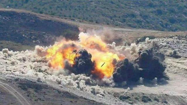 Máy bay Nga không kích dữ dội vị trí quân Thổ Nhĩ Kỳ (Ảnh: Sohu)
