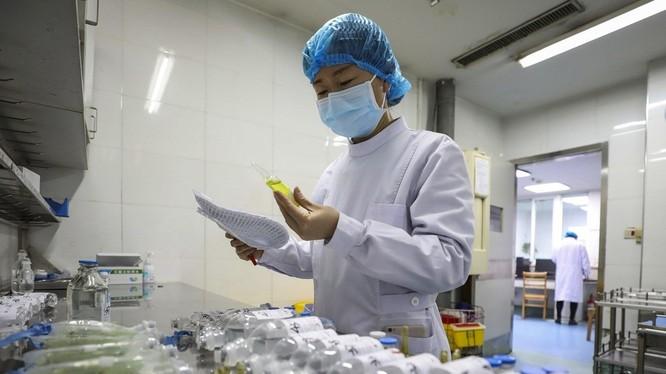 Các chuyên gia Thượng Hải khuyến nghị sử dụng Đông Tây y kết hợp để điều trị COVID-19 (Ảnh: Tân Hoa xã).