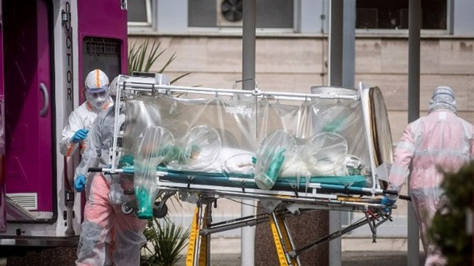 Số người bị tử vong ở Italy đã nhiều hơn Trung Quốc (Ảnh: AP).
