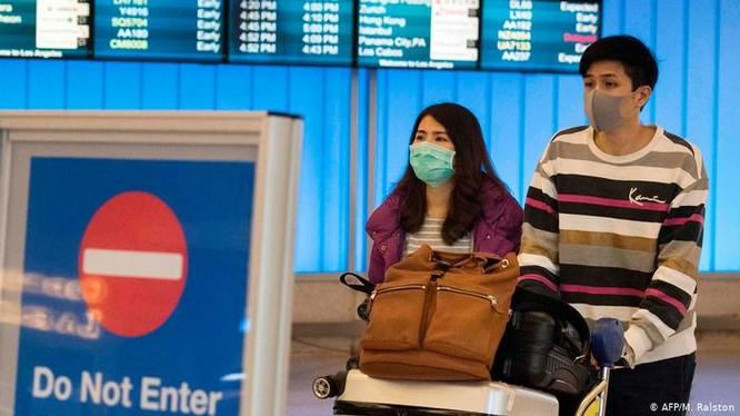 Ngày 2/2 Mỹ thực hiện đóng cửa nhưng đã có 430 ngàn người nhập cảnh từ Trung Quốc (Ảnh: AFP)