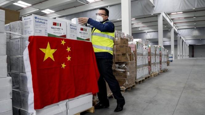 Trung Quốc tặng và bán vật tư chống dịch cho các nước phương Tây để thể hiện hình ảnh tích cực trong chống dịch bệnh (Ảnh: wsj.com).