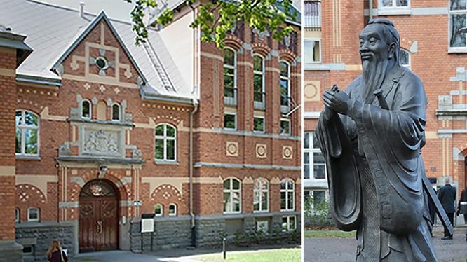 Viện Khổng Tử ở Đại học Stockholm, Viện Khổng Tử đầu tiên ở châu Âu đã bị đóng cửa năm 2015 (Ảnh: Ui.se).
