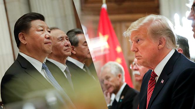 Cuộc chiến pháp lý giữa Phương Tây và Trung Quốc chủ yếu là cuộc đối đầu giữa Mỹ và Trung Quốc (Ảnh: AP).