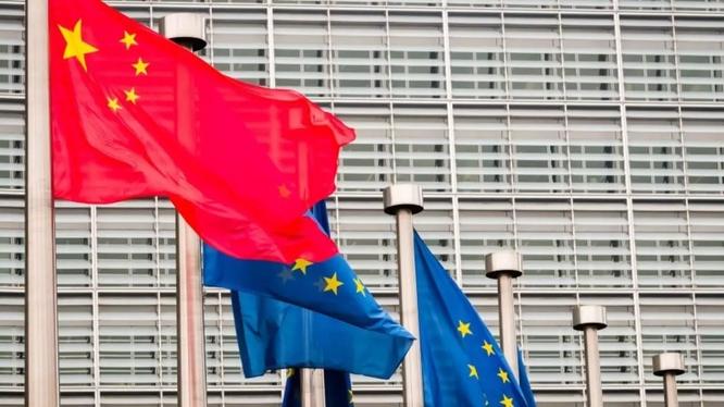 Giới truyền thông phương Tây cho rằng dịch bệnh COVID-19 đã khiến quan hệ châu Âu - Trung Quốc thay đổi (Ảnh: RFI).