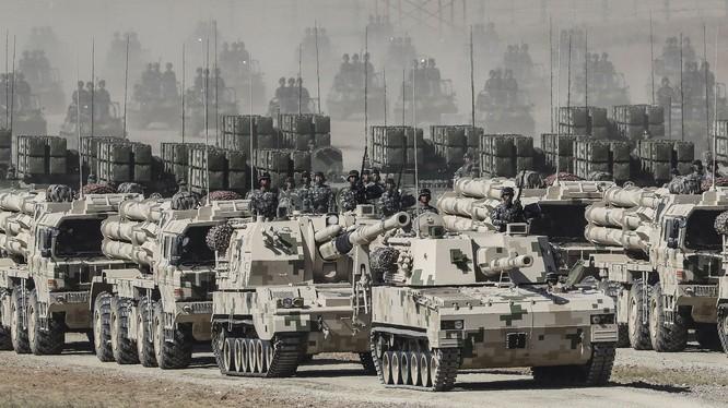 Trung Quốc đã chuẩn bị đầy đủ cho việc sử dụng vũ lực với Đài Loan để thống nhất đất nước (Ảnh: Đa Chiều}.