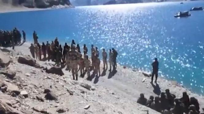 Quân đội Trung Quốc và Ấn Độ liên tục đối đầu căng thăng tại khu vực tranh chấp biên giới ở Ladakh (Ảnh: Đa Chiều)