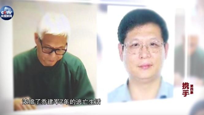 Sau 9 năm lẩn trốn, tóc Kiều Kiến Quân đã bạc trắng (Ảnh:Sohu)