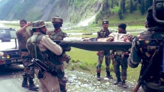 Binh sĩ Ấn Độ bị sát hại trong vụ xung đột với lính Trung Quốc hôm 15/6 (Ảnh: Đông Phương).