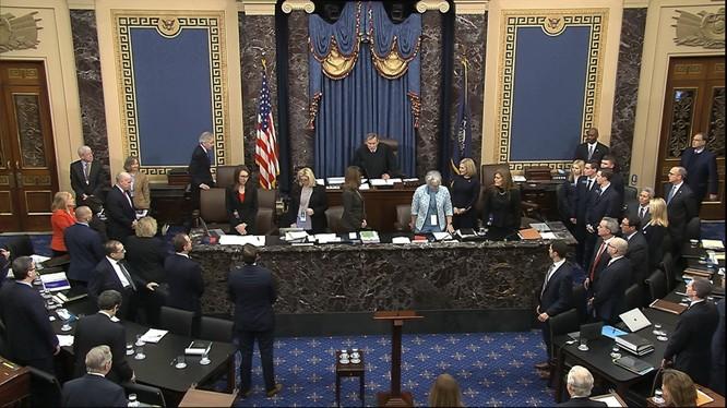 Ngày 25/6,Thượng nghị viện Mỹ đã thông qua Luật tự trị Hồng Kông, mở đường cho việc trừng phạt các quan chức và thực thể Trung Quốc (Ảnh: Hk01).