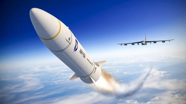 Tên lửa siêu thanh AGM-183A tốc độ Mach 20 phóng từ trên không của Mỹ (Ảnh: Lockheed Martin).