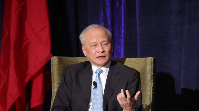 Đại sứ Trung Quốc tại Mỹ, ông Thôi Thiên Khải cho rằng tình hình quan hệ Trung-Mỹ hiện nay rất không bình thường (Ảnh: Đa Chiều).