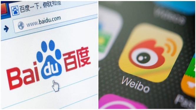 Baidu và Sina Weibo là hai trong số 47 ứng dụng di động Trung Quốc mới bị chính phủ Ấn Độ cấm sử dụng trên lãnh thổ nước này (Ảnh: Đông Phương).
