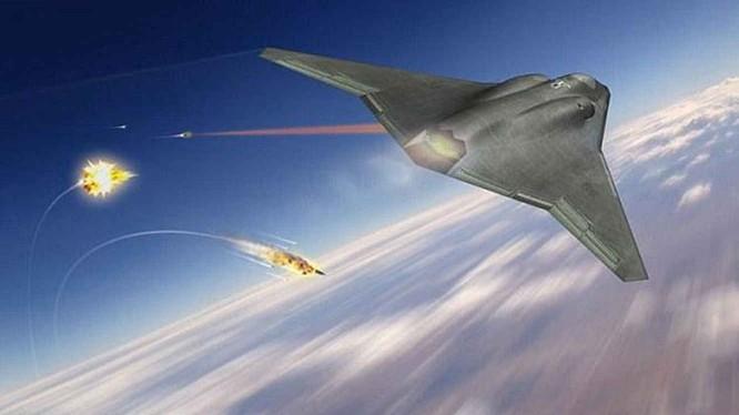 Phác đồ máy bay chiến đấu thế hệ thứ sáu của hãng Northrop Grumman, Mỹ (Ảnh: Đa Chiều).