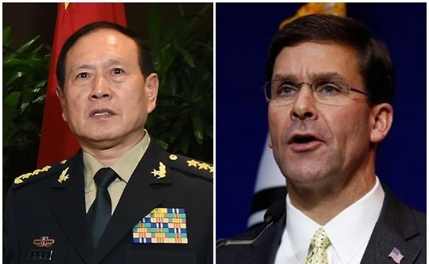 Giữa lúc quan hệ Mỹ - Trung xấu nhất, nội dung Bộ trưởng Quốc phòng hai nước điện đàm hôm 6/8 trở thành vấn đề được dư luận rất quan tâm (Ảnh: Đông Phương).