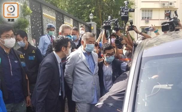 Ông Lê Trí Anh, Chủ tịch Tập đoàn truyền thông Next Media, người bị coi là một thủ tĩnh của phong trào chống đối ở Hồng Kông bị cảnh sát bắt sáng 10/8 (Ảnh: Đông Phương).
