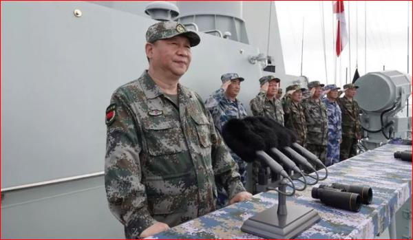 Theo báo SCMP của Hồng Kông, ông Tập Cận Bình đã ra lệnh PLA phải né tránh khi gặp quân đội Mỹ trên Biển Đông để tránh xảy ra xung đột (Ảnh: Creaders).