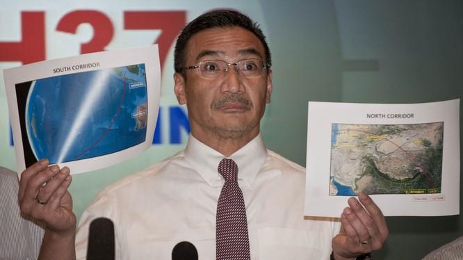 Ngoại trưởng Hishammuddin Hussein mạnh mẽ chỉ trích yêu sách chủ quyền của Trung Quốc ở Biển Đông và tuyên bố Malaysia sẽ không thỏa hiệp trước Quốc hội (Ảnh: Tân Hoa xã).