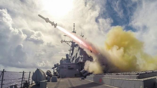 Đài Loan đang đàm phán mua các tên lửa hành trình của Mỹ để phòng thủ bờ biển (Ảnh: newsin.us).