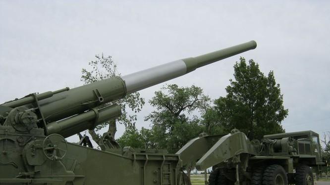 Mô hình Pháo chiến lược tầm xa (SLRC) đang được quân đội Mỹ phát triển với tầm bắn hơn 1.000 dặm Anh (1.600 km) (Ảnh: new.qq.com).