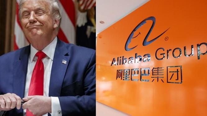 Ngày 15/8, ông Donald Trump đã tuyên bố đang xem xét áp dụng lệnh cấm đối với Tập đoàn thương mại điện tử khổng lồ Alibaba của Trung Quốc (Ảnh: seehua).
