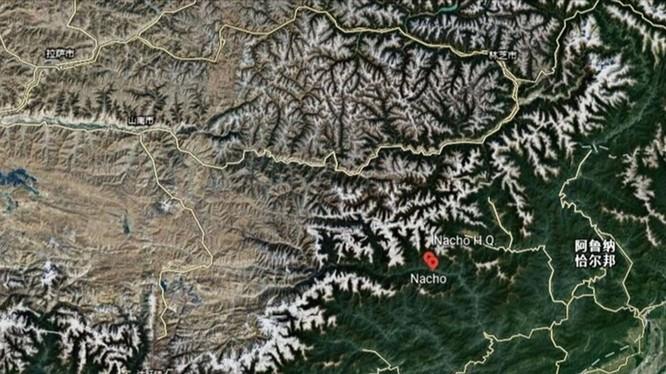 """Khu vực biên giới bang Arunachan Pradesh, Ấn Độ mà Trung Quốc gọi là """"Tạng Nam"""". nơi phía Ấn Độ nói PLA đã bắt cóc 5 người dân của họ (Ảnh: Đa Chiều)."""