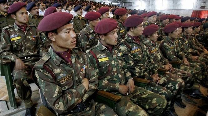Lực lượng biên giới đặc biệt (SFF) của Ấn Độ được thành lập tháng 12/1962, trong đó có nhiều người Tây Tạng (Ảnh: Getty).