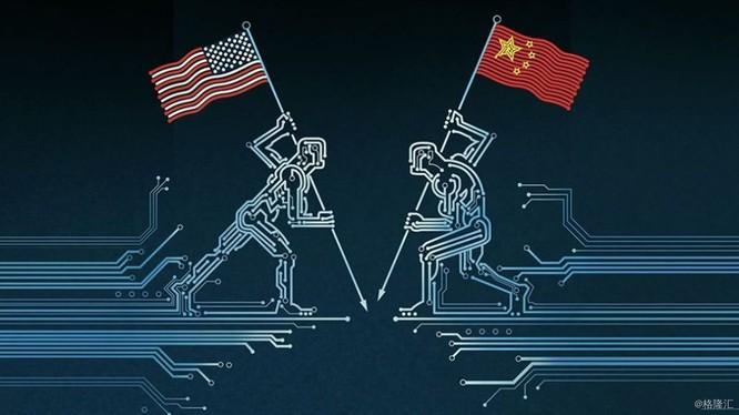 Cuộc chiến cạnh tranh Trung - Mỹ trong lĩnh vực công nghệ diễn ra rất quyết liệt (Ảnh: Sohu).