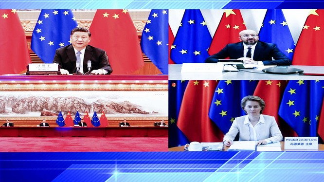 Hội nghị thượng đỉnh Trung Quốc – châu Âu hôm 14/9 đã làm nổi bật những bất đồng lớn giữa hai bên về các vấn đề thương mại, khí hậu, Hong Kong, Đài Loan, Tân Cương và dịch bệnh (Ảnh: ucpnz).