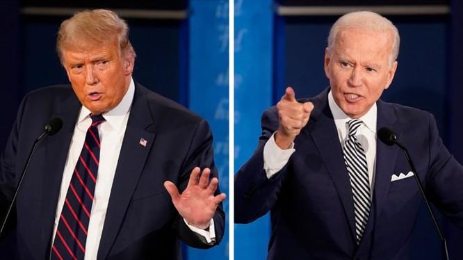 Cuộc tranh luận lần 2 giữa hai ứng cử viên Donald Trump và Joe Biden dự kiến ngày 15/10 có thể sẽ không diễn ra (Ảnh: DWnews).