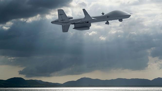 Máy bay không người lái MQ-9 Sea Guardian Nhà Trắng đề nghị bán cho quân đội Đài Loan (Ảnh: GE)
