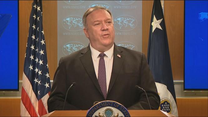 Ngoại trưởng Mike Pompeo tuyên bố Mỹ sẽ đóng cửa tất cả các Viện Khổng Tử trước cuối năm nay (Ảnh: news.now)