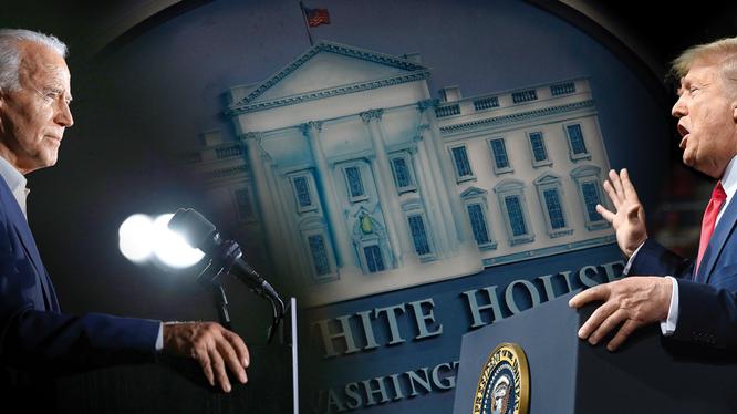 Ai sẽ trở thành ông chủ Nhà Trắng sau ngày 3/11 hiện vẫn còn là điều chưa rõ ràng (Ảnh: Dwnews).