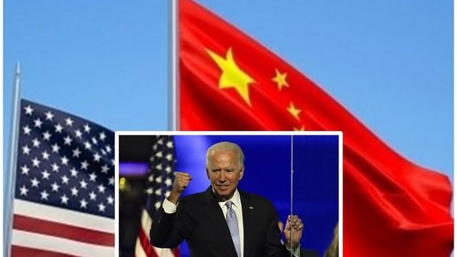 Chính sách đối với Trung Quốc của tổng thống sơ cử Joe Biden đang là đề tài rất được dư luận quốc tế và Trung Quốc quan tâm (Ảnh: Toutiao).