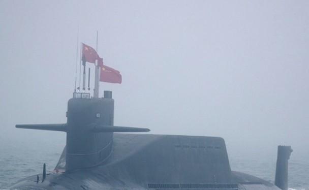 Báo Philippines cho rằng tàu ngầm hạt nhân Trung Quốc là thủ phạm gây nên ô nhiễm phóng xạ ở vùng biển thuộc Biển Đông ở phía Tây Philippines (Ảnh: Dongfang).