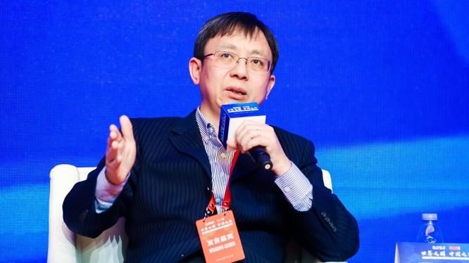 Giáo sư Tiến sĩ Ngô Tâm Bá, Viện trưởng Nghiên cứ quốc tế Đại học Phúc Đán Thượng Hải (Ảnh: Huanqiu)