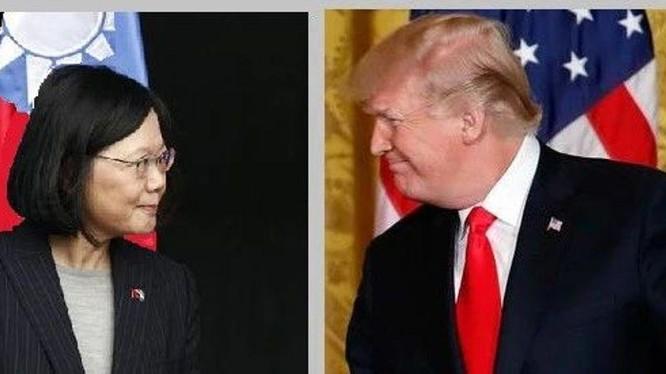 Giáo sư Trịnh Vĩnh Niên cho rằng Trung Quốc cần phải chuẩn bị ứng phó với chuyến thăm Đài Loan của ông Trump trước khi kết thúc nhiệm kì (Ảnh: UDN).