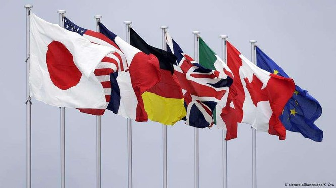70 nghị sĩ các nước Tập đoàn G7 cùng nhau gửi thư kêu gọi các chính phủ nước mình đoàn kết chống Trung Quốc (Ảnh: Deutsche Welle).