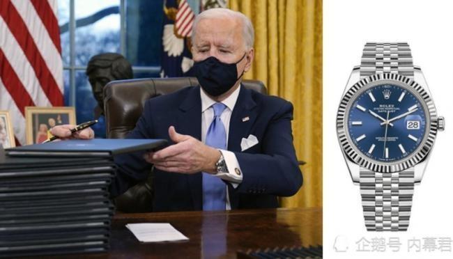 Ông Biden và chiếc đồng hồ gây bão mạng (Ảnh: Creader).