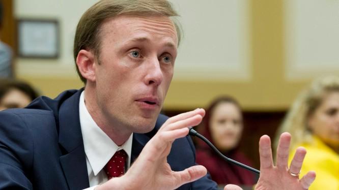 Cố vấn An ninh Quốc gia của tổng thống Mỹ Jake Sullivan: Washington cần chuẩn bị để buộc Trung Quốc phải trả giá cho các vấn đề Tân Cương, Hồng Kông và đe dọa Đài Loan (Ảnh: Politico).